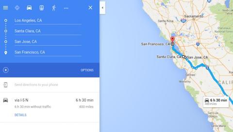 Google Maps permitirá trazar rutas con destinos múltiples