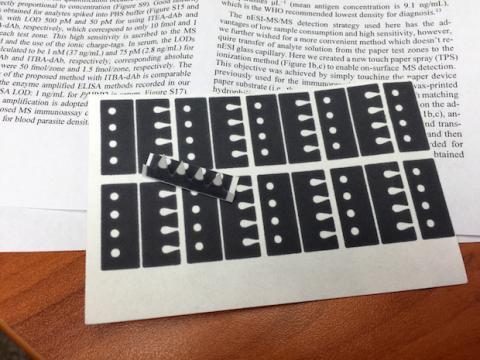 Test papel cáncer