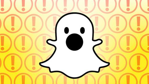 Notificación captura en Snapchat