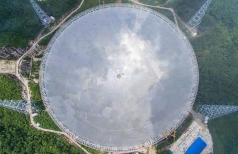 FAST, radiotelescopio chino