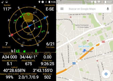 GPS ZTE Blade V7