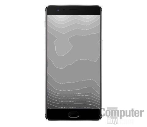 Distribución brillo pantalla OnePlus 3