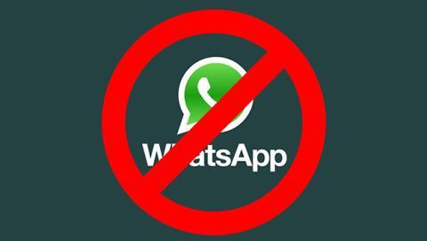 WhatsApp cuenta bloqueada