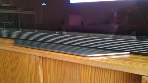 barra de sonido del LG OLED65E6V