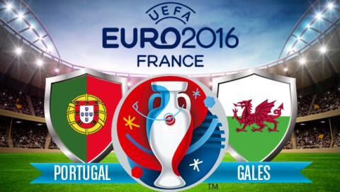 ver portugal gales eurocopa semifinales en Internet online por streaming