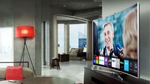SmartTV Samsung UE48J6300 curvada de 48 pulgadas, a la cual le han aplicado un nada despreciable 23% de descuento