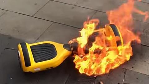 Retiran medio millón de hoverboards en riesgo de incendio