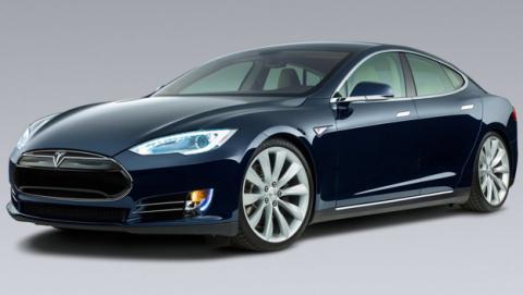 Tesla Model S vehículo autónomo
