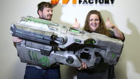 Imprimen la mítica arma BFG 9000 de Doom con una impresora 3D