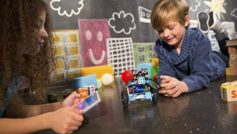 SPC y Makeblock apuestan por la robótica educativa