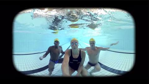 Un vídeo en VR como terapia para perder el miedo al agua