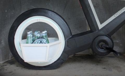 Cyclotron compartimento cesta de la compra