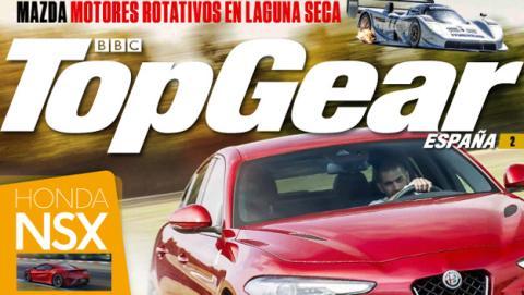 El segundo número de Top Gear España ya está en los kioscos