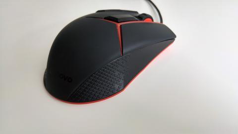 imagen del agarre del Lenovo gaming mouse