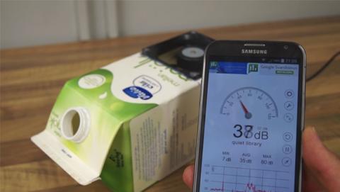 Fabrica un aire acondicionado casero con un cartón de leche