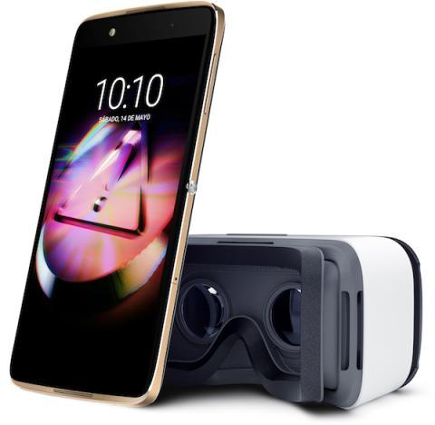 IDOL 4 con gafas VR