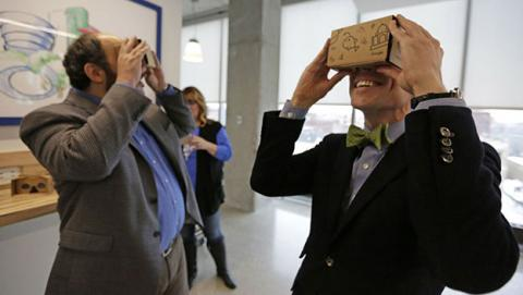 Cascos realidad virtual Google