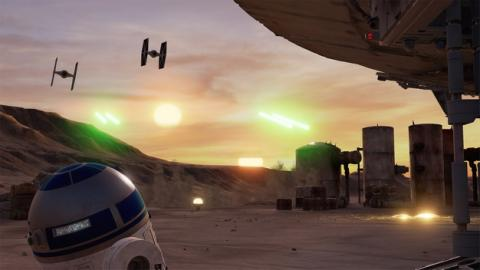 Star Wars Trials on Tatooine y VR Funhouse, realidad virtual gratis
