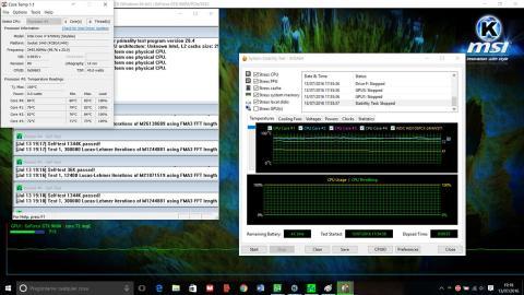 Prueba stress Lenovo Y700