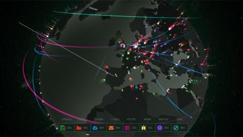 mapa ciberamenazas kaspesky
