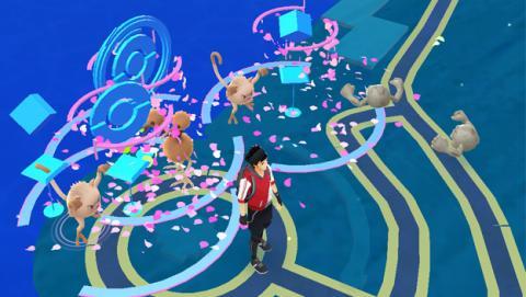 Pokémon en Poképaradas