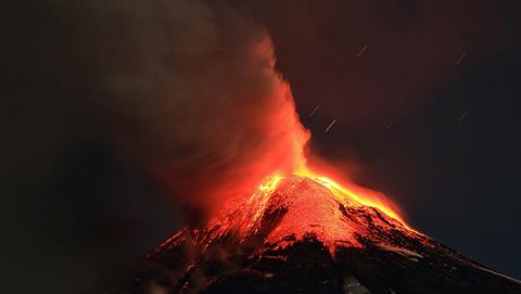 Super erupción volcán