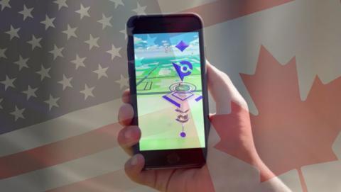 Dos jugadores de Pokémon GO cruzan una frontera de USA ilegalmente