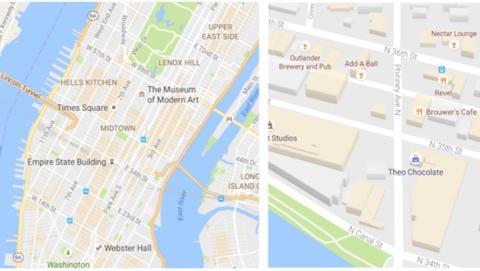 Google Maps presenta un cambio de look más fresco