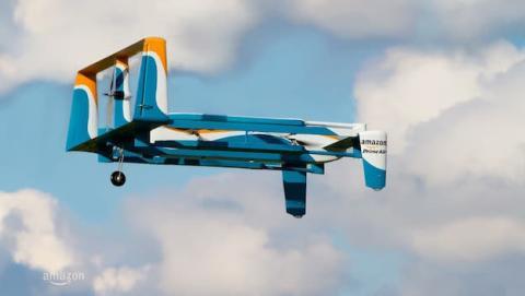 Amazon iniciará pruebas de entregas por drone en Reino Unido