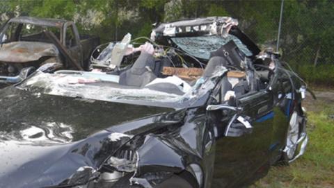Accidente del Tesla Model S