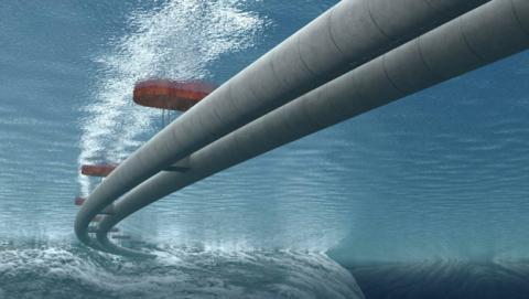 Túnel submarino en Noruega