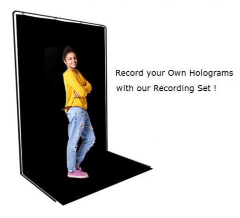 Graba hologramas