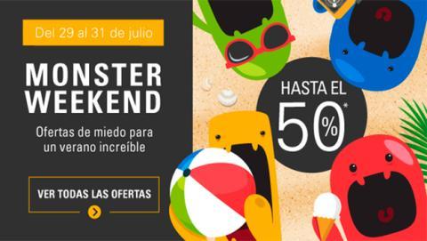 Descuentos del 50% en electrónica en Monster Weekend de eBay