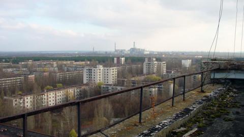 Imagen de la Chernobyl actual, 30 años después del accidente nuclear.