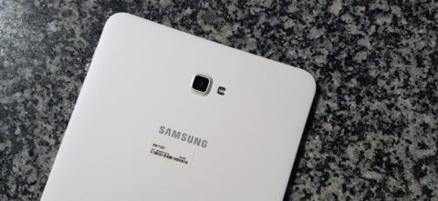 Galaxy Tab A trasera