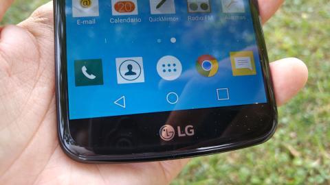 Detalle del LG K10