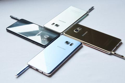 Camara Galaxy Note 7