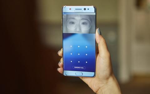 Galaxy Note 7 Escáner Iris