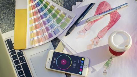 Este bolígrafo usará cualquier color que escanees con él