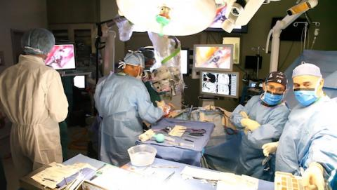 Realidad aumentada en cirugía