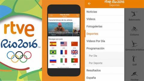 App Juegos Olimpicos RTVE