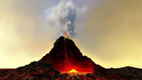 volcan con internet