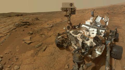 La NASA lanza un juego por el aniversario del Curiosity