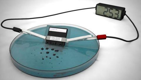 bateria disuelve agua