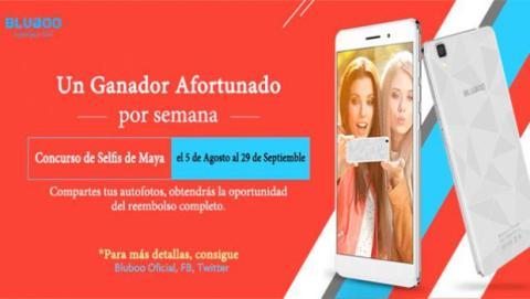 Concurso de selfies de Bluboo Maya.