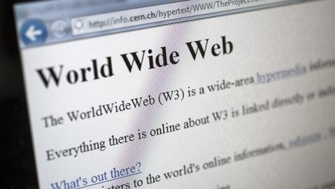 Primera página web pública