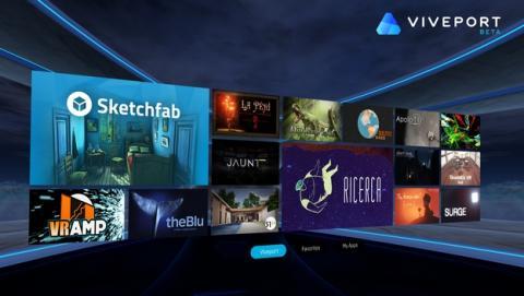 Las gafas HTC Vive se desmarcan de SteamVR y estrenan Viveport
