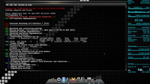 La complejidad del jernel de Linux en una sola imagen