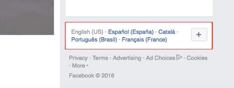 El método más fácil para cambiar de idioma el Facebook