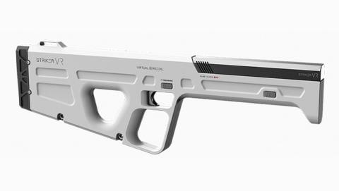 Este arma para realidad virtual puede simular los disparos